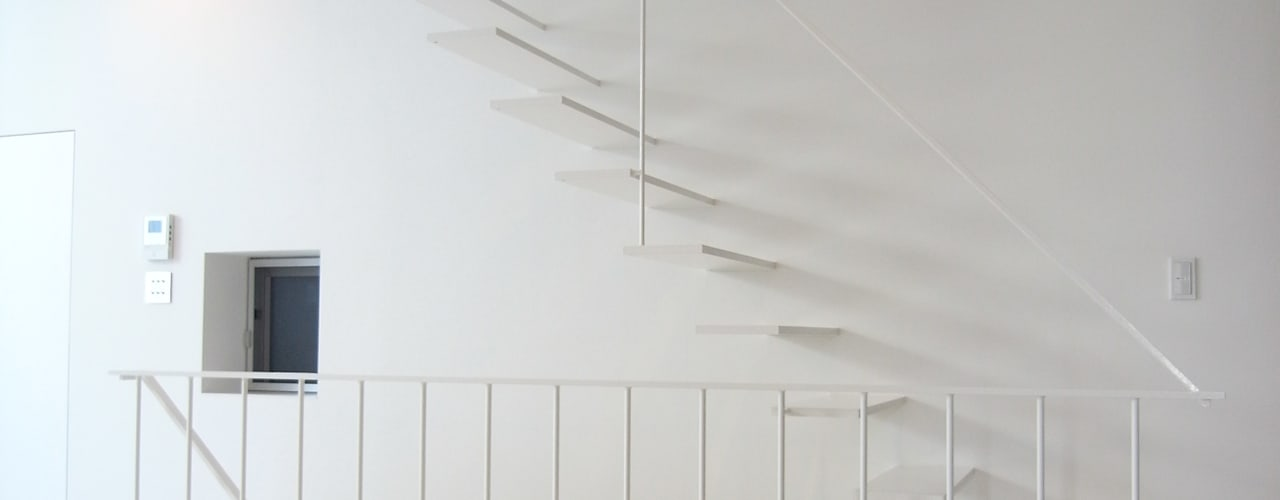 House in Fukushima: Mimasis Design/ミメイシス デザインが手掛けた廊下 & 玄関です。,