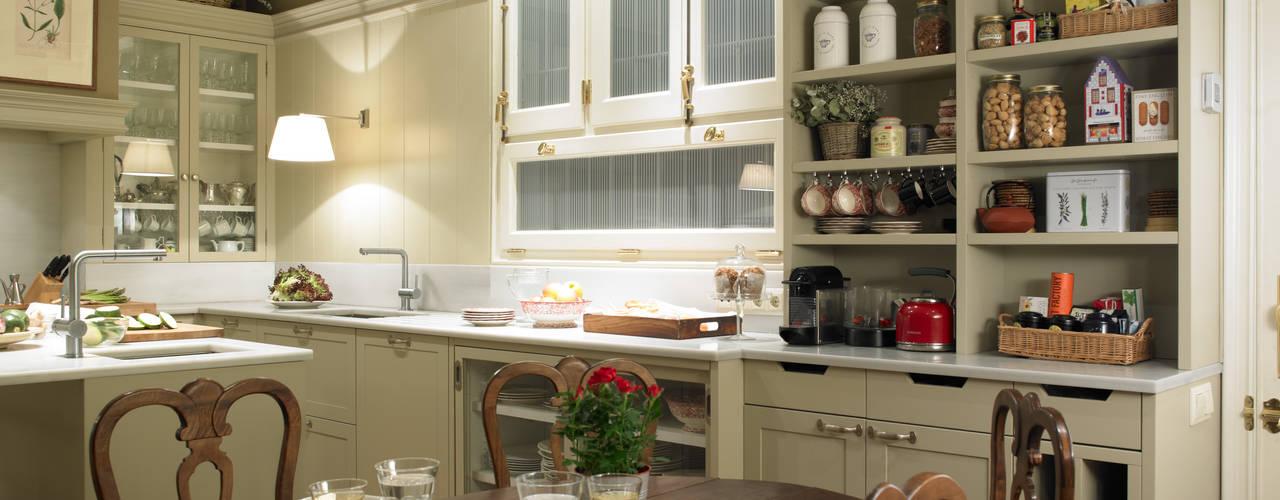 Come creare una cucina contemporanea dall\'eleganza classica