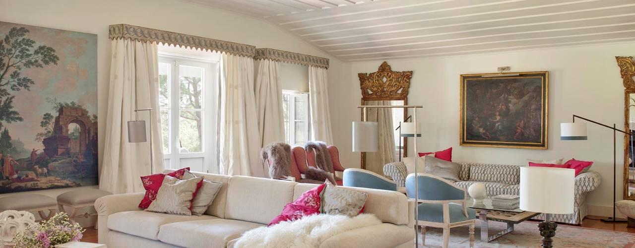 My Cottage for a Horse Salas de estar campestres por SA&V - SAARANHA&VASCONCELOS Campestre