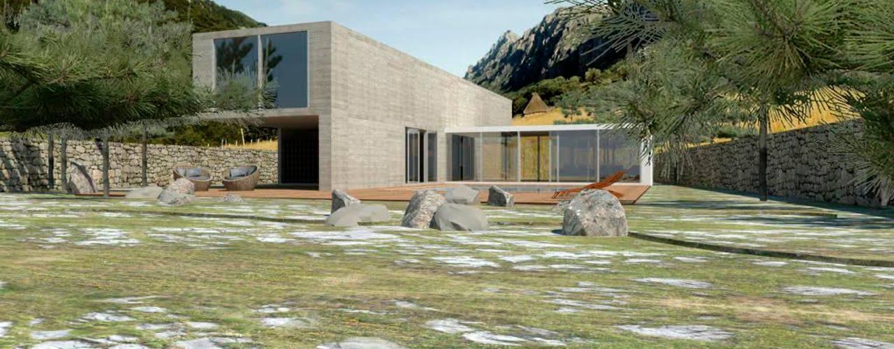 Proyectos y Espacios Grupo Pi Victtus Casas modernas