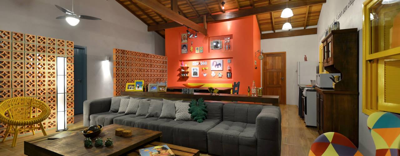 Living room by Arquitetando ideias,