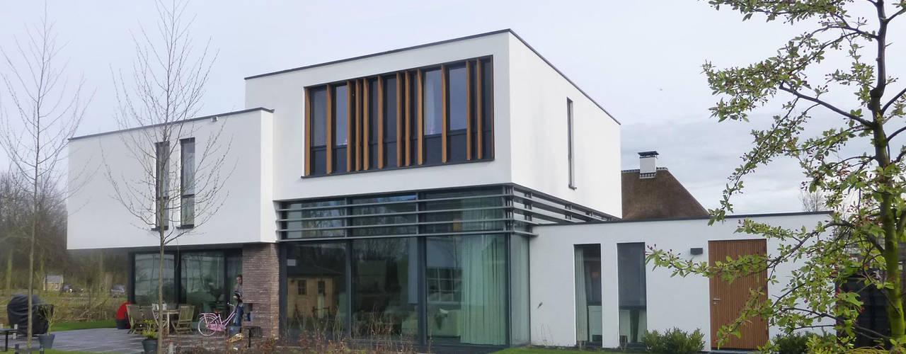 WOONHUIS ROTTERDAM:  Huizen door Maas Architecten