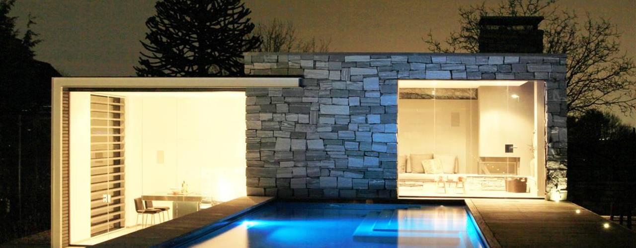 Albercas modernas de Arend Groenewegen Architect BNA Moderno