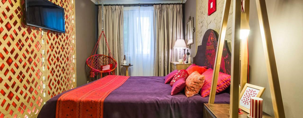 Yucubedesign Dormitorios de estilo ecléctico