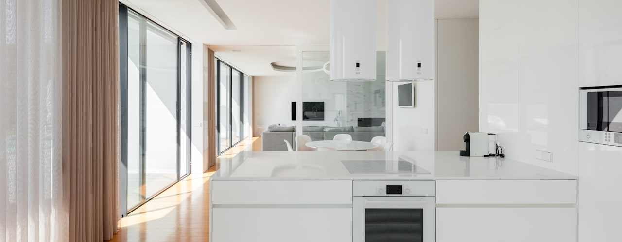 Cozinhas minimalistas por homify Minimalista
