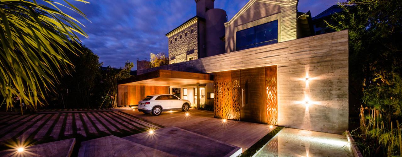 CASA BNG Casas modernas: Ideas, imágenes y decoración de BLOS Arquitectos Moderno