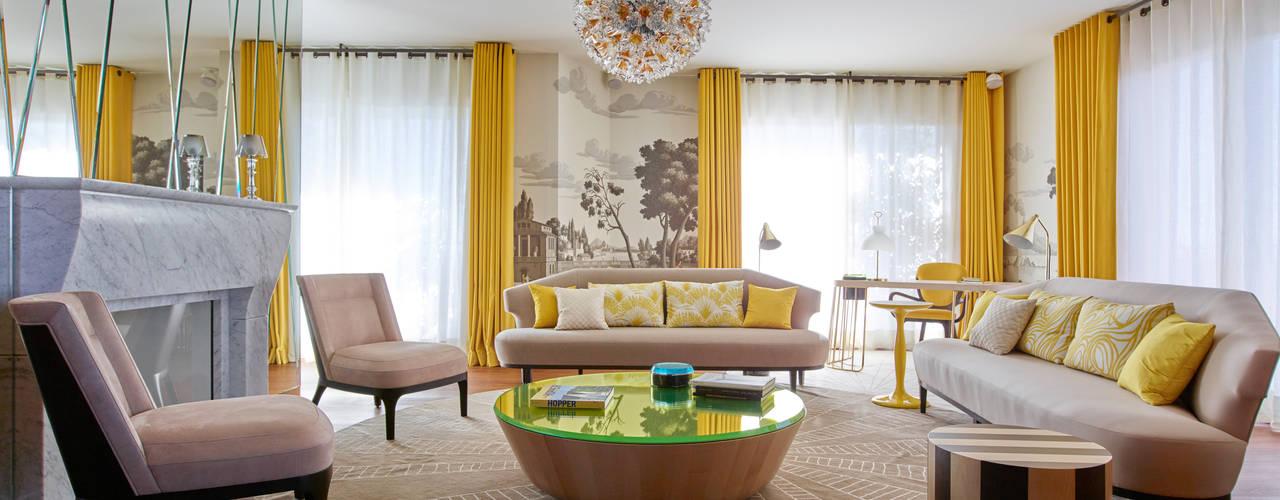 Phòng khách by Studio Catoir