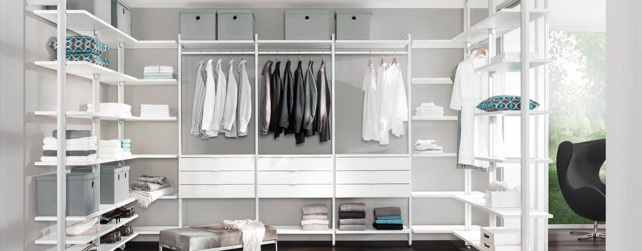 Begehbarer Kleiderschrank Moderne Ankleidezimmer von Regalraum GmbH Modern