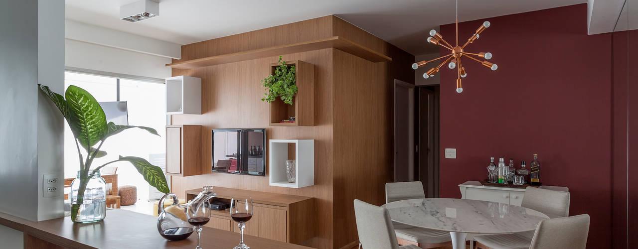 Tria Arquitetura Ruang Keluarga Modern
