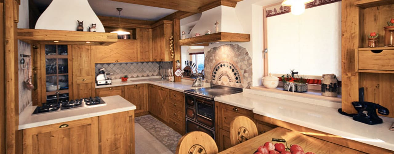 Projekty,  Kuchnia zaprojektowane przez STUDIO ABACUS di BOTTEON arch. PIER PAOLO