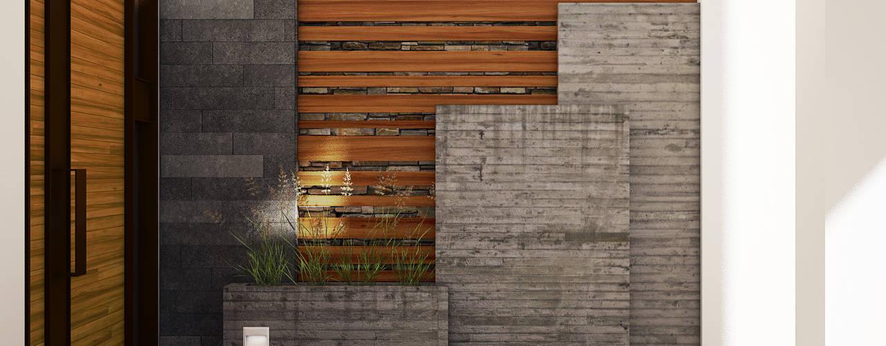 Modern Garden by Modulor Arquitectura Modern