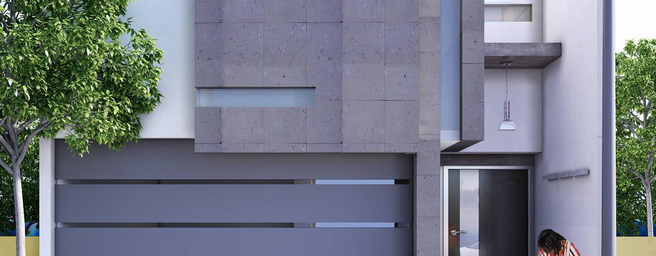 Front doors by Modulor Arquitectura,