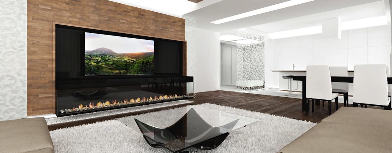 Salas multimedias de estilo  por ARCHDUET&DA