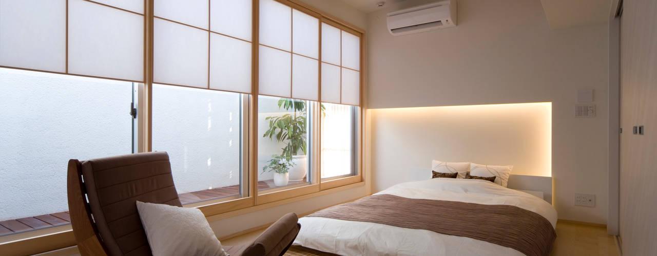 ベッドのある和室インテリア