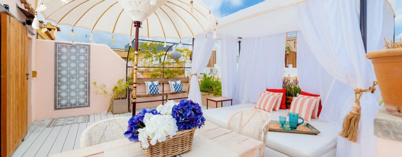Proyecto Bondian Living Balcon, Veranda & Terrasse modernes