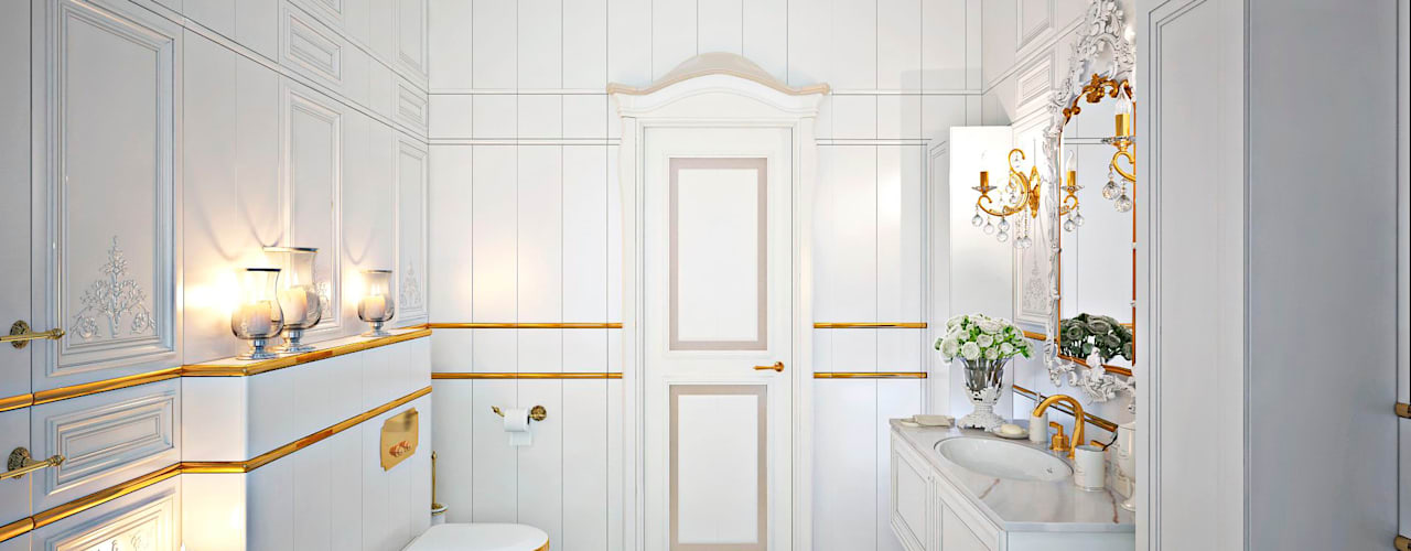 Classic style bathrooms by GM-interior Classic