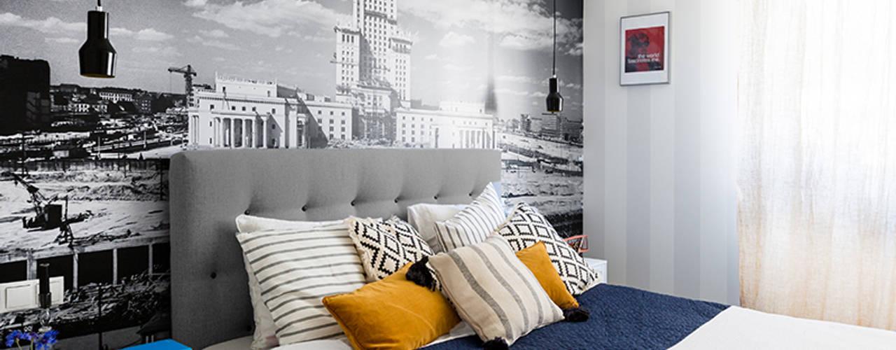 Eclectic style bedroom by Dagmara Zawadzka Architektura Wnętrz Eclectic