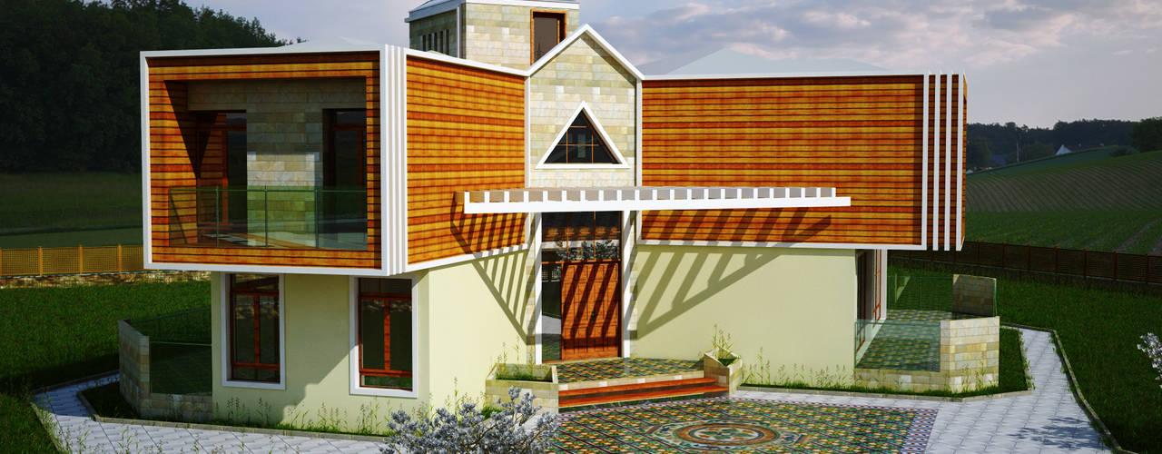 Casas de estilo moderno de H.E: Mimarlık Moderno