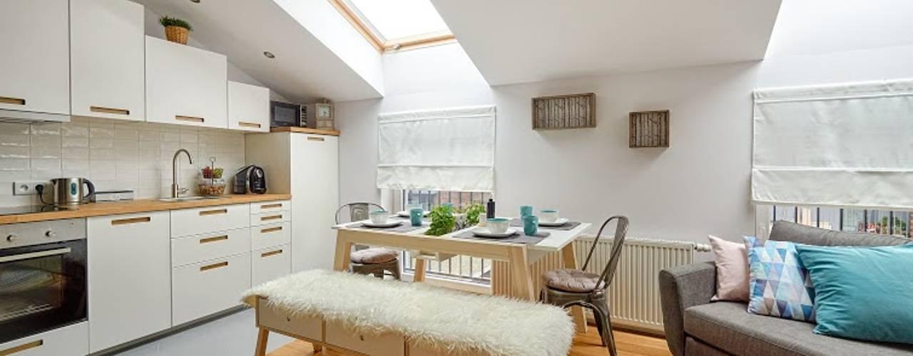 İskandinav Oturma Odası DreamHouse.info.pl İskandinav