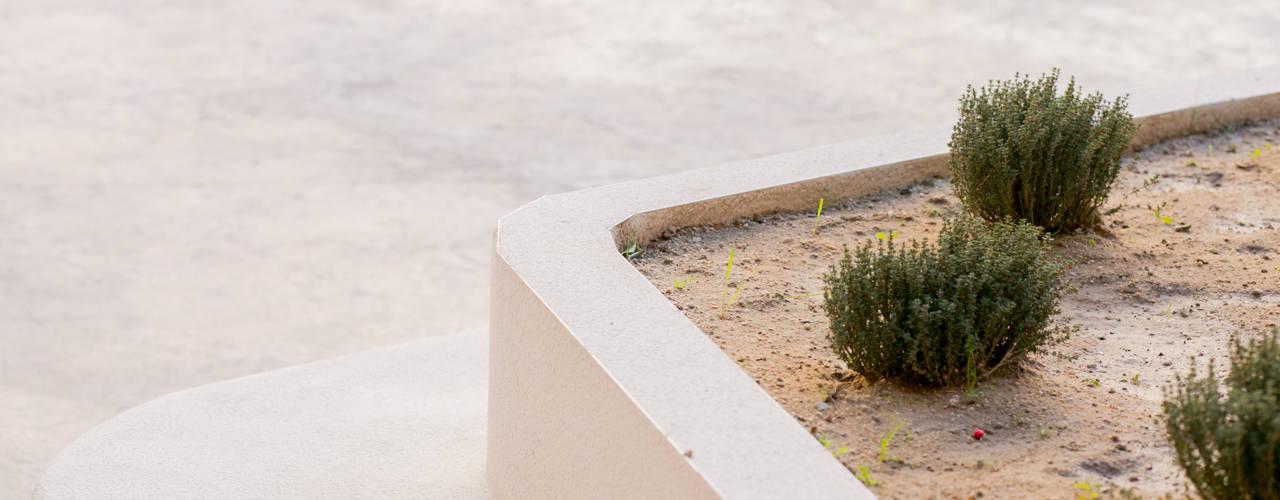 Taman Modern Oleh Empresa constructora en Madrid Modern