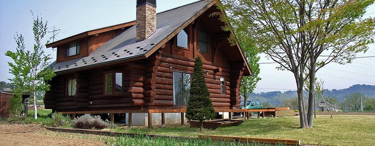 Log Cabin beside Japan Alps โดย Cottage Style / コテージスタイル คันทรี่