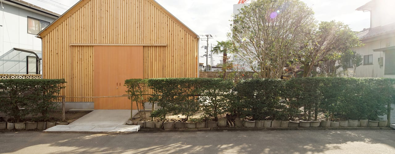 Minimalist houses by 井上貴詞建築設計事務所 Minimalist