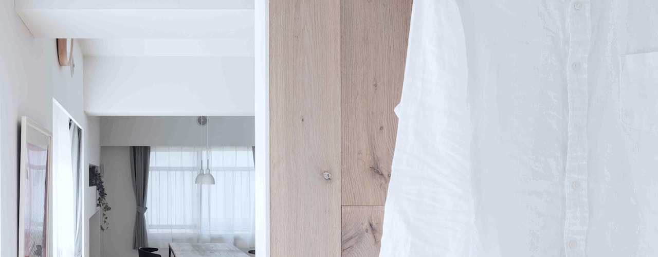 Paredes  por 一色玲児 建築設計事務所 / ISSHIKI REIJI ARCHITECTS, Escandinavo