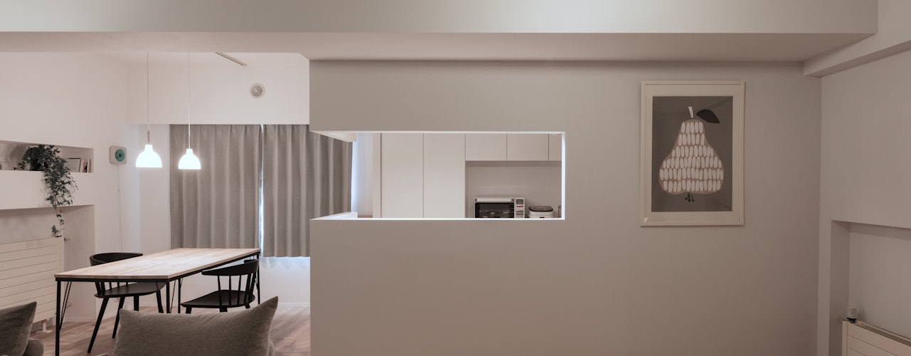 Küche von 一色玲児 建築設計事務所 / ISSHIKI REIJI ARCHITECTS
