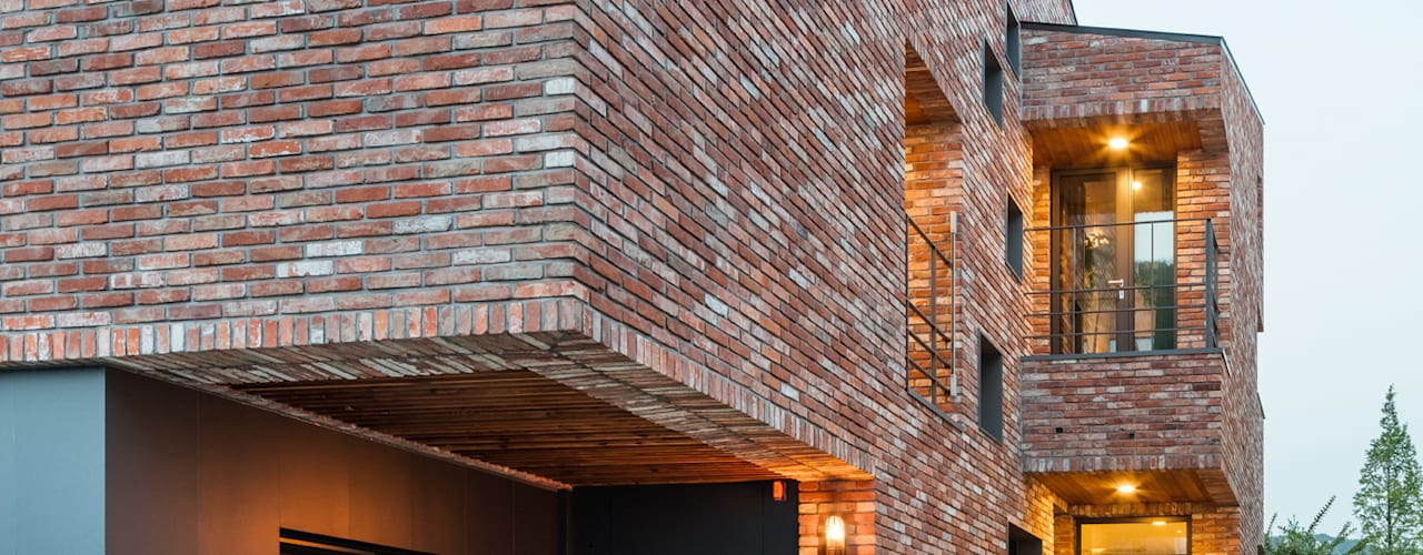 Casas de estilo  por aandd architecture and design lab., Moderno
