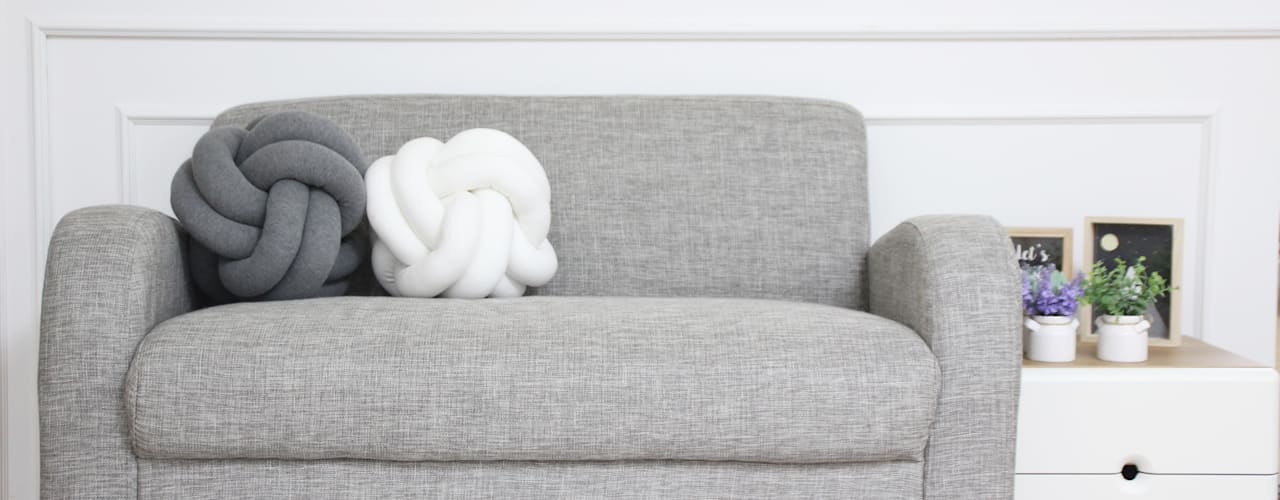 Knot Cushion: HEM 의