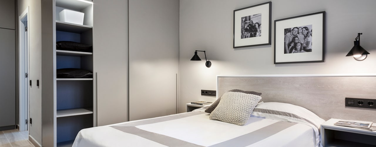 Hogar familiar en Badalona Dormitorios de estilo clásico de Dröm Living Clásico