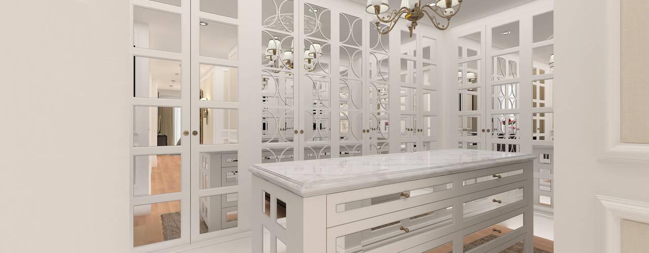 Classic style dressing room by Kerim Çarmıklı İç Mimarlık Classic