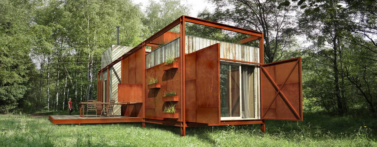 Projekty,  Domy zaprojektowane przez План_Б