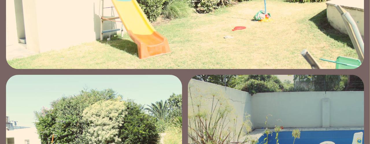 Jardines de estilo moderno por LAS MARIAS casa & jardin