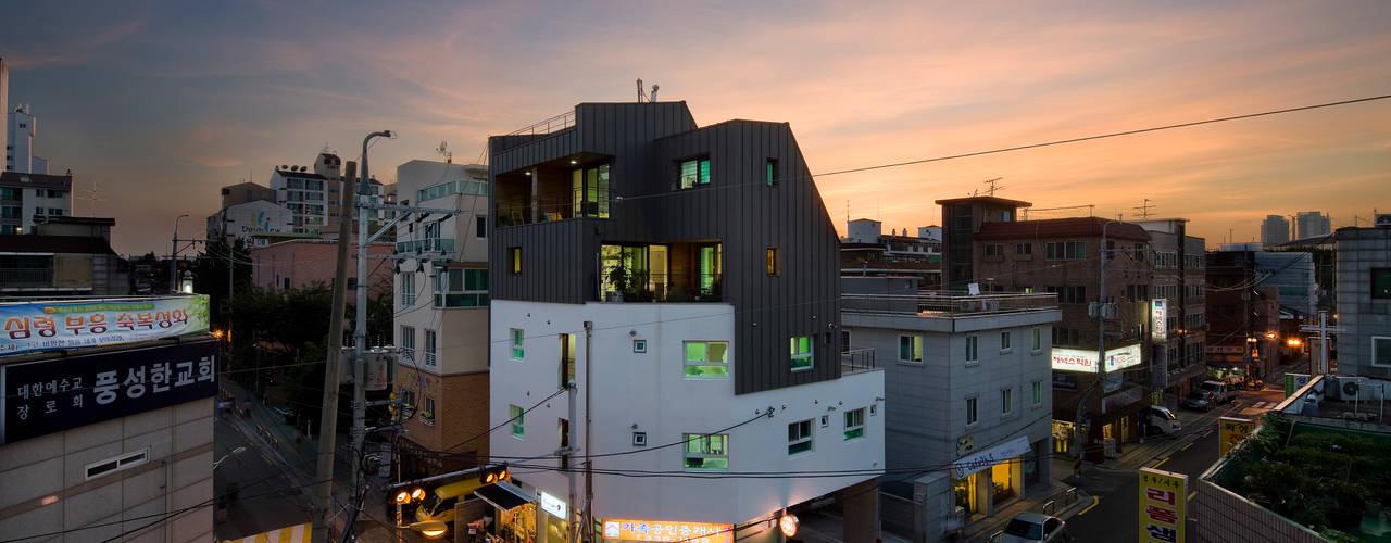 Projekty,  Domy zaprojektowane przez 리슈건축