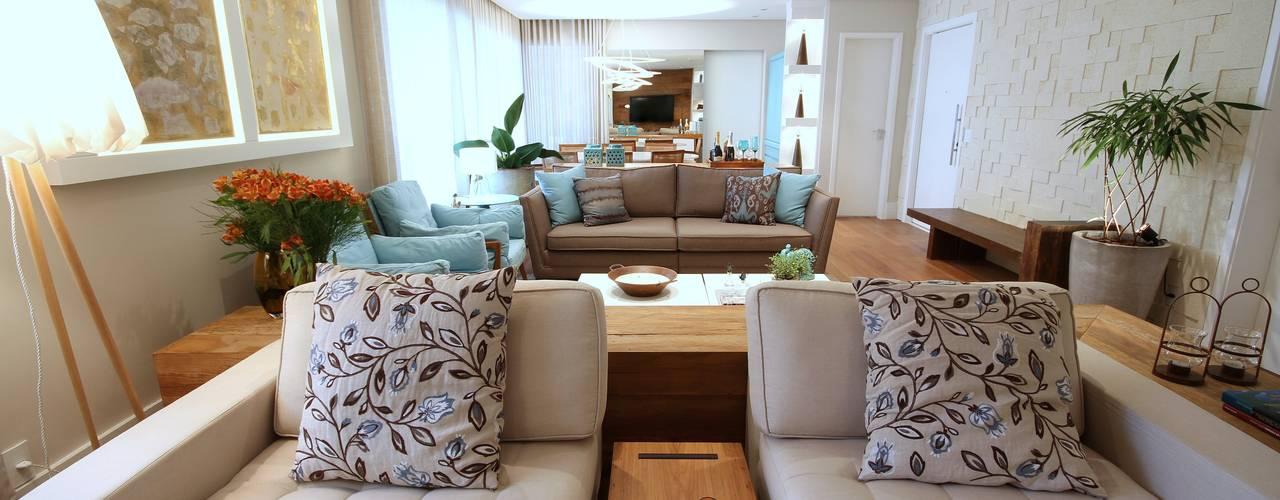 Ruang Keluarga oleh MeyerCortez arquitetura & design, Modern