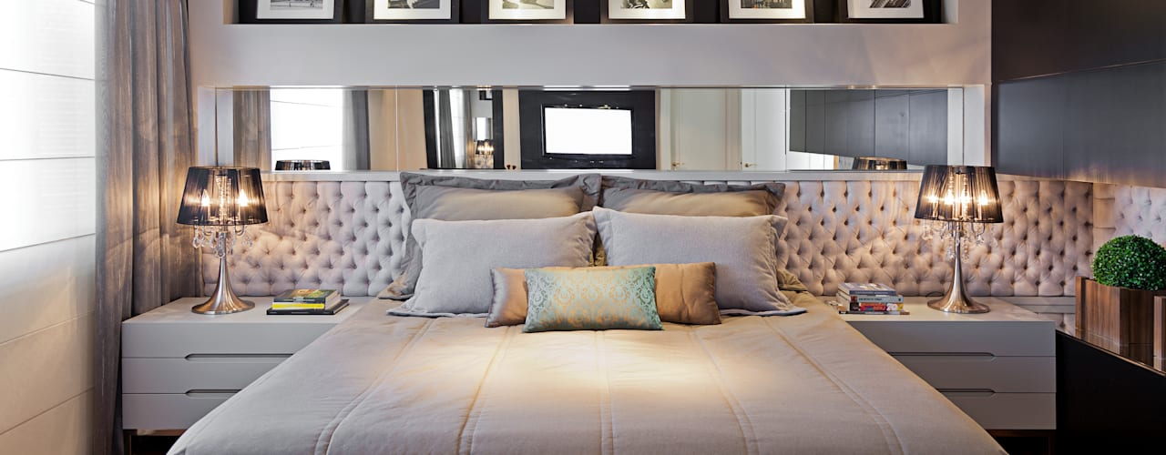 Спальни в . Автор – Joana & Manoela Arquitetura