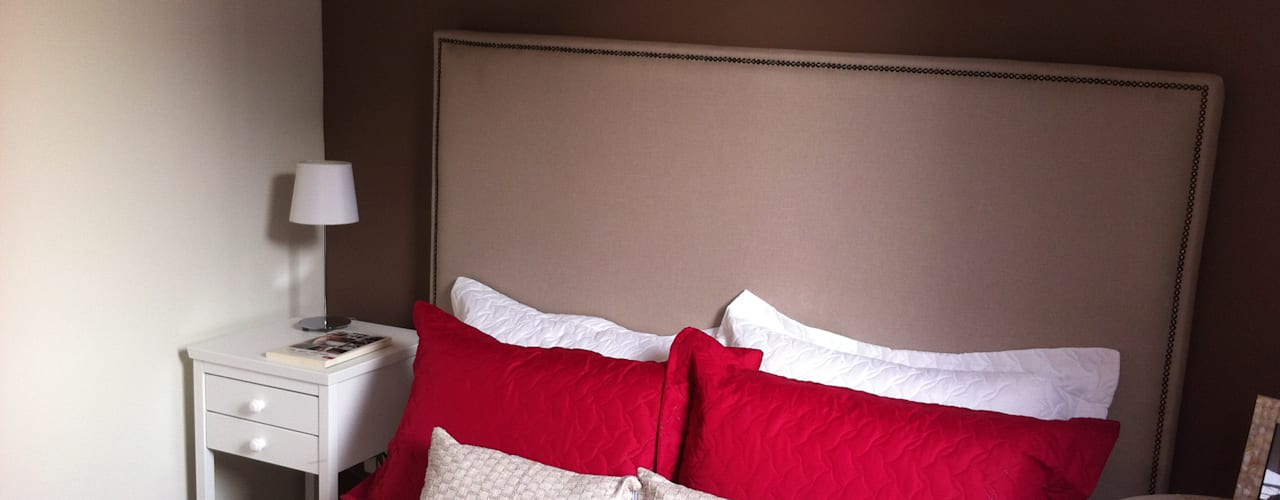 Fabiana Rosello Arquitetura e Interiores의  침실,