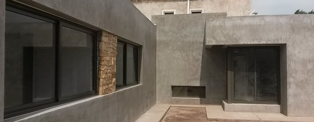Modern houses by modulo cinco arquitectura Modern