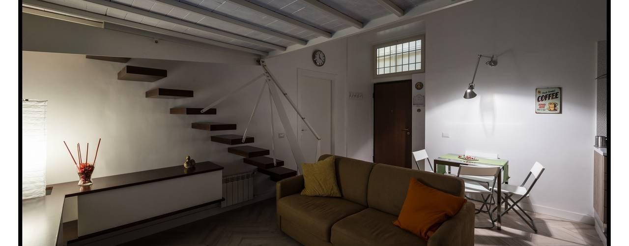 غرفة المعيشة تنفيذ GINO SPERA ARCHITETTO, حداثي