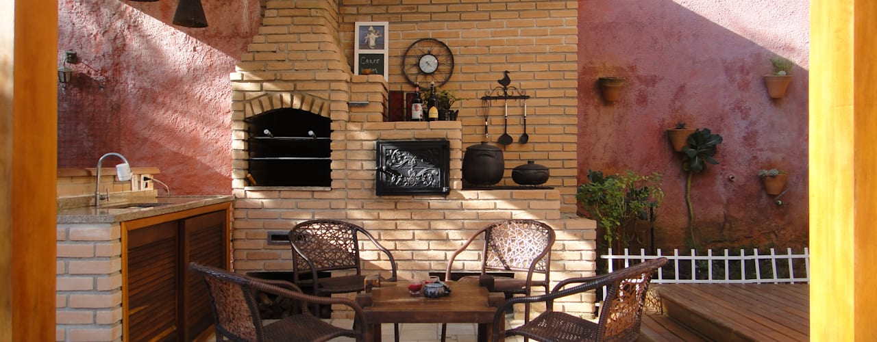 Rustic style balcony, porch & terrace by homify Rustic
