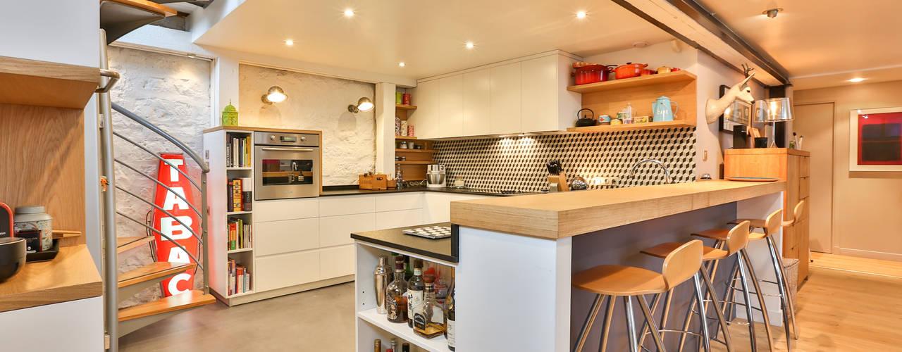 Cocinas modernas: Ideas, imágenes y decoración de LUSIARTE Moderno