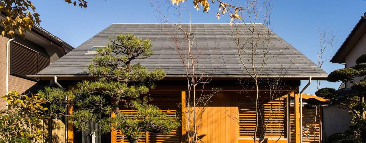 大清水の楽屋(おおしみずのらくや)(La casa cómoda de Oshimizu) モダンな 家 の アグラ設計室一級建築士事務所 agra design room モダン