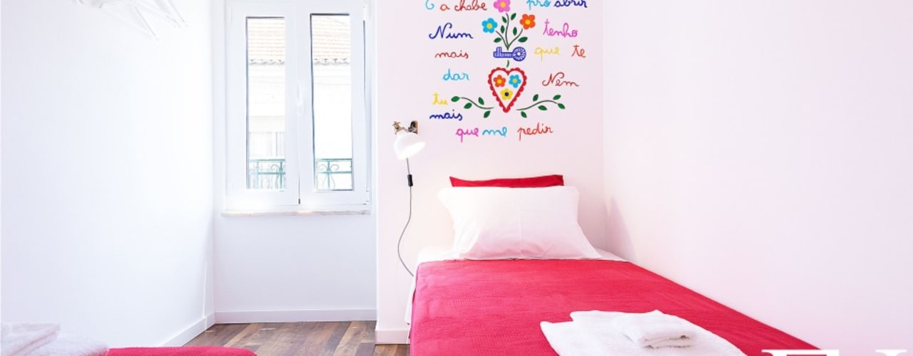 ห้องนอนเด็ก โดย EU INTERIORES,