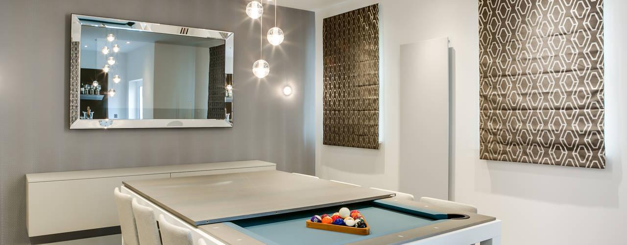 une belgian touch très cosy dans ce cottage anglais de Cheltenham:  de style  par Fusion Tables