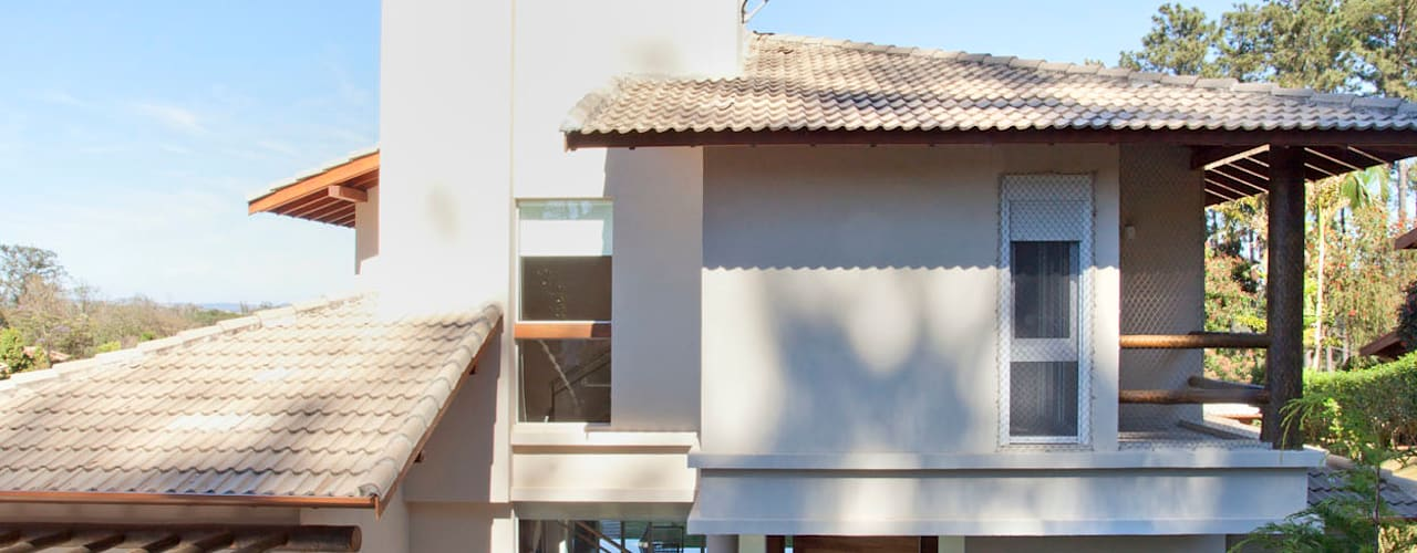 Casas modernas de Samy & Ricky Arquitetura Moderno