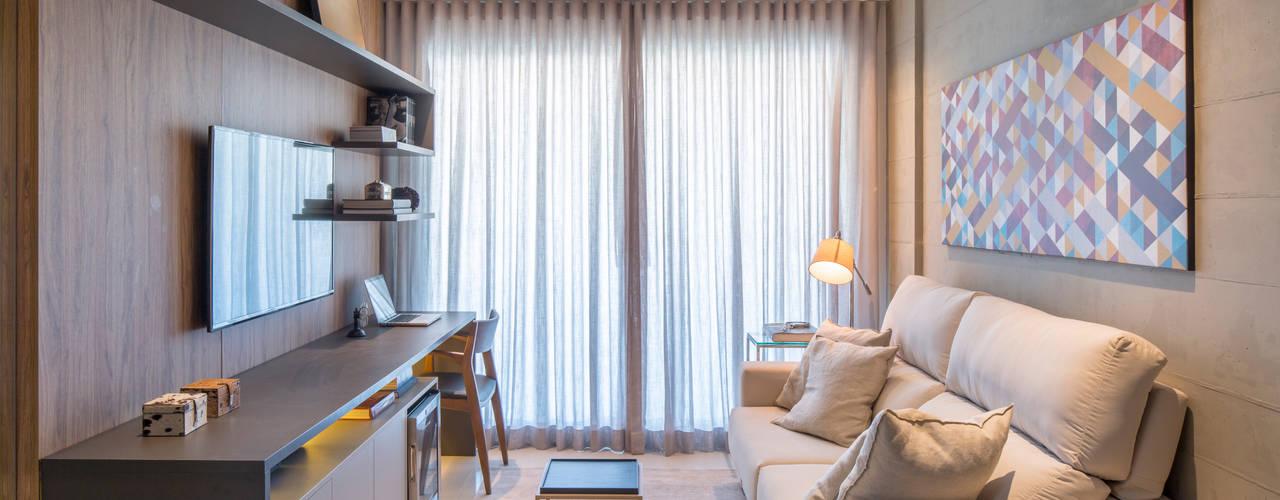 Гостиная в . Автор – Carpaneda & Nasr