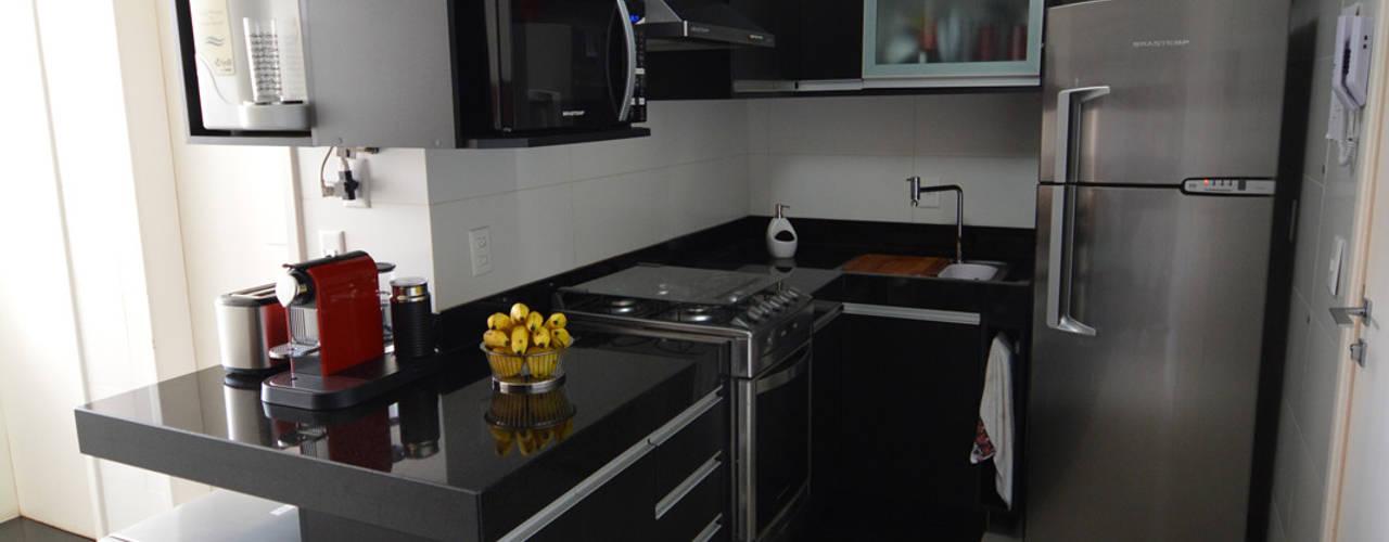Cocinas de estilo minimalista de Arquitetura 1