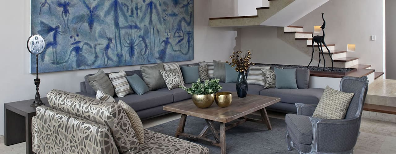 Living room by MARIANGEL COGHLAN, Modern