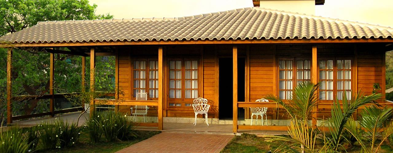 в . Автор – CASA & CAMPO - Casas pré-fabricadas em madeiras